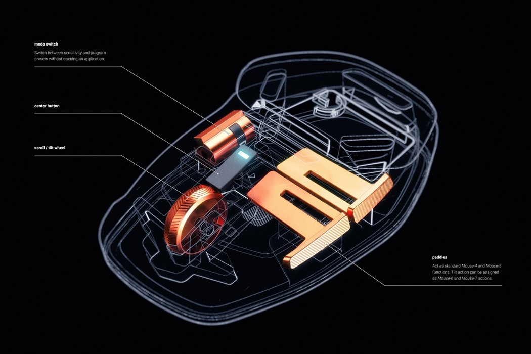 Logitech Salvo – беспроводная мышь с футуристическим дизайном нового поколения!