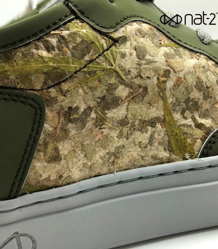 Немецкая марка создала кроссовки из настоящих листьев конопли