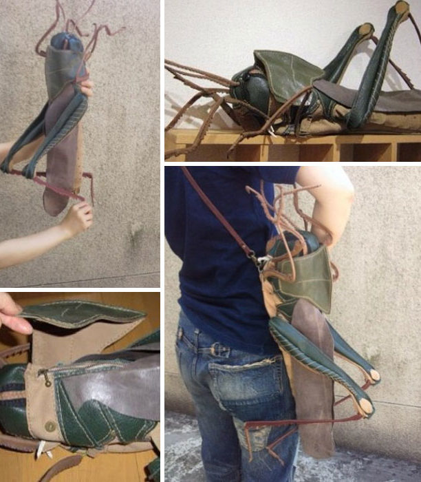 Японский художник представил коллекцию жутких сумок и аксессуаров…