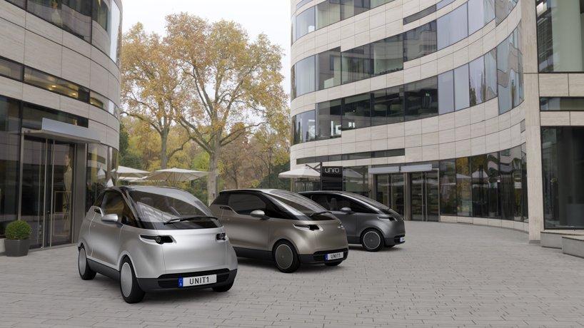 Uniti 'one' - это трехместный городской автомобиль, который будет стоить всего $ 19 000