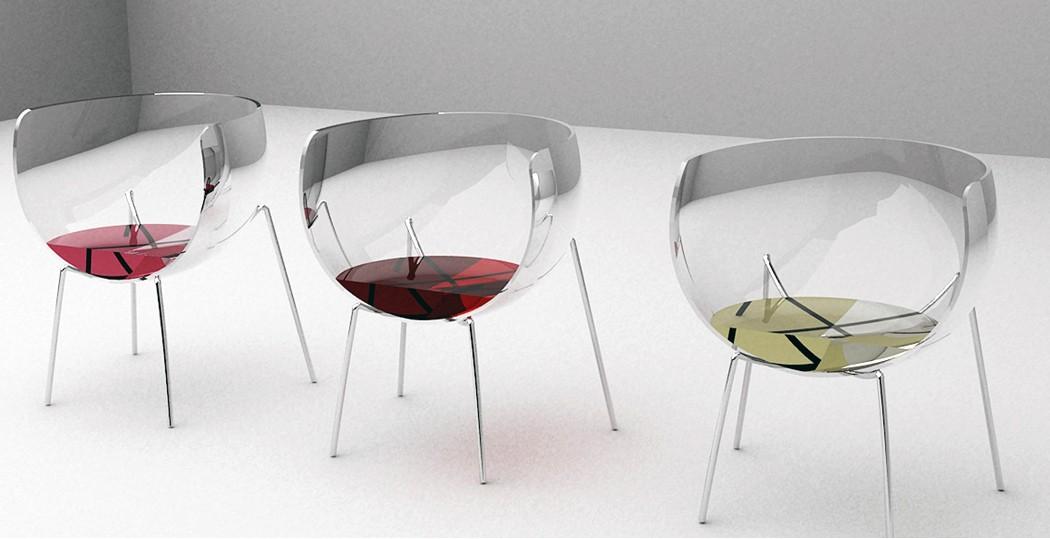 Стулья Merlot добавят всплеск любимого вина в ваше жилое пространство!