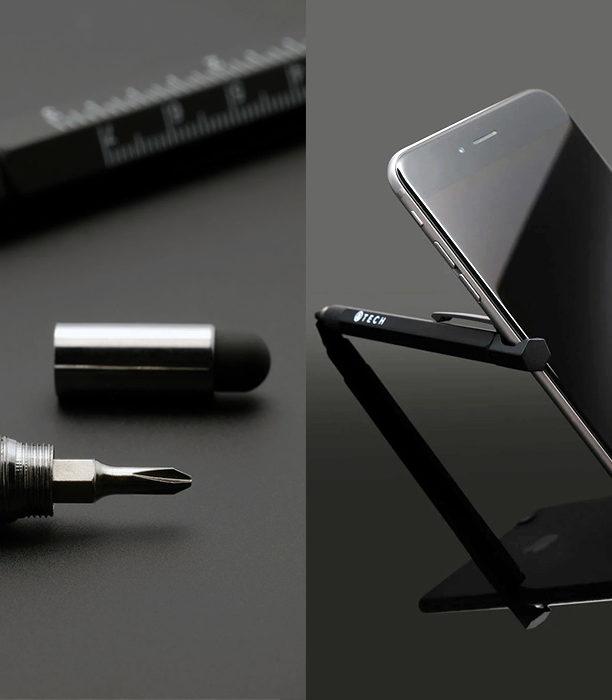 Ручка EDC 7-в-1 объединяет в себе все - от подставки для телефона до отвертки!