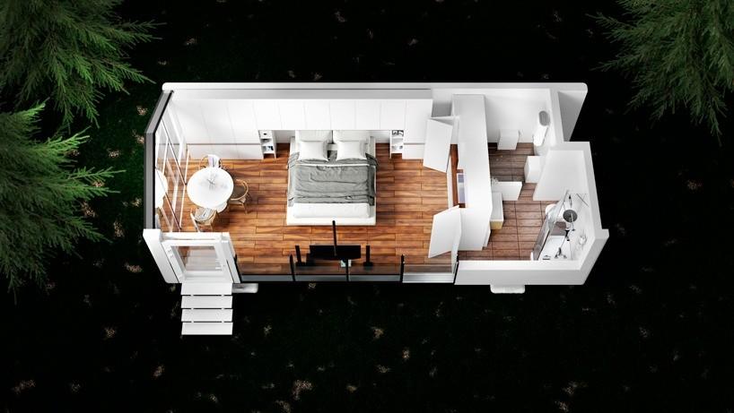 Умный дом Haus, напечатанный с помощью 3D-принтера, сейсмоустойчивый и готов к заселению