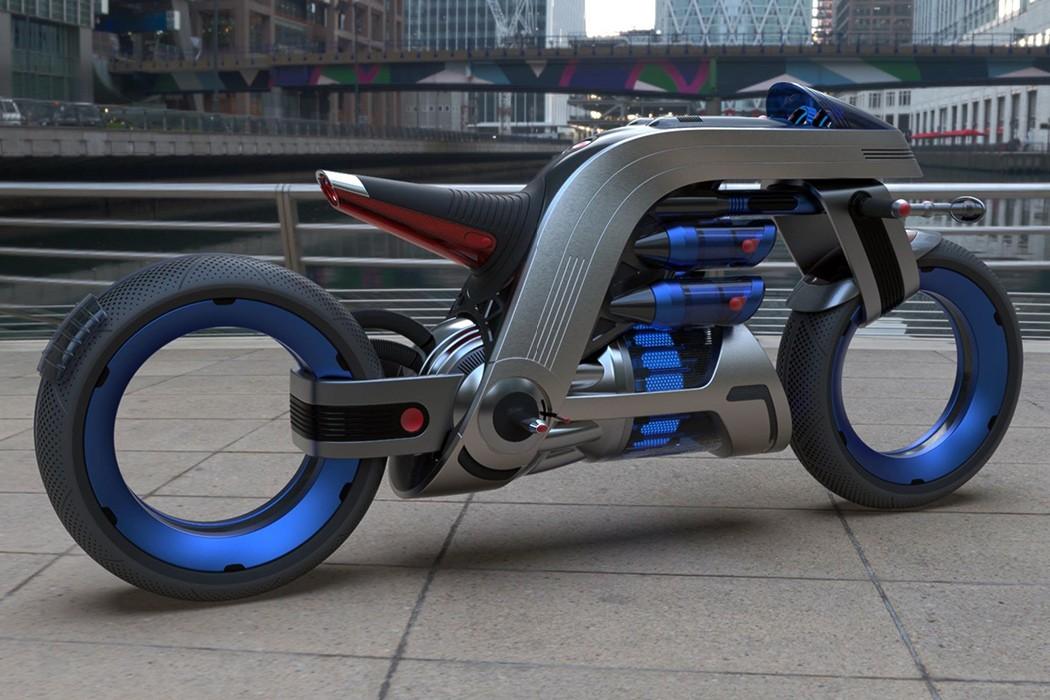 Dyson Inspired Concept – мотоцикл с футуристической концепцией