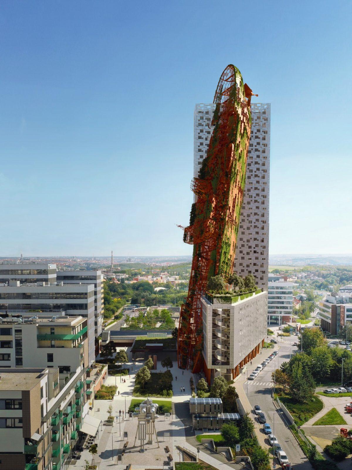 Пражская «башня кораблекрушения» может стать самым высоким зданием в Чехии