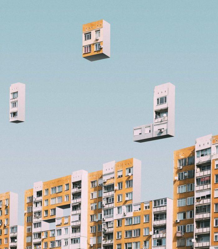 Игра или реальность? Эти многоквартирные дома похожи на тетрис