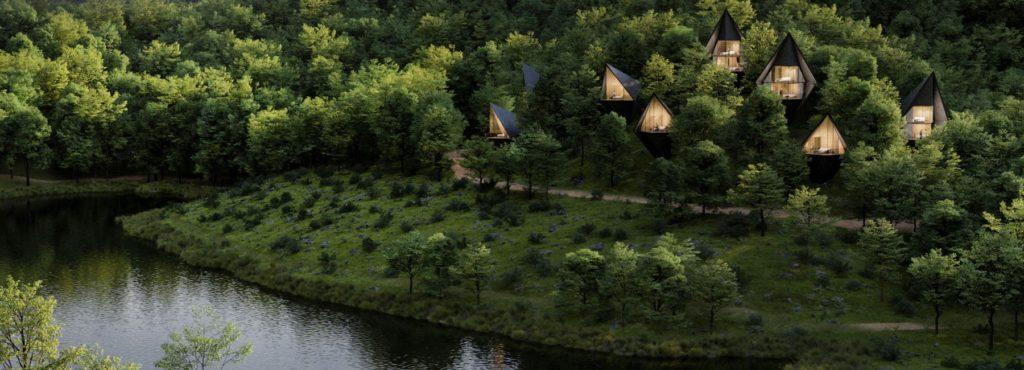 В лесах Западной Вирджинии появятся комфортабельные домики на деревьях