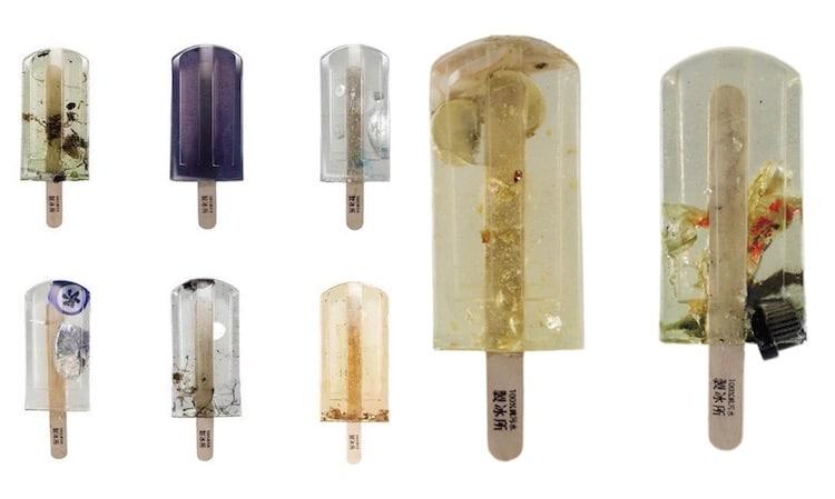 «Опасное фруктовое мороженое» из 100 различных источников загрязненной воды