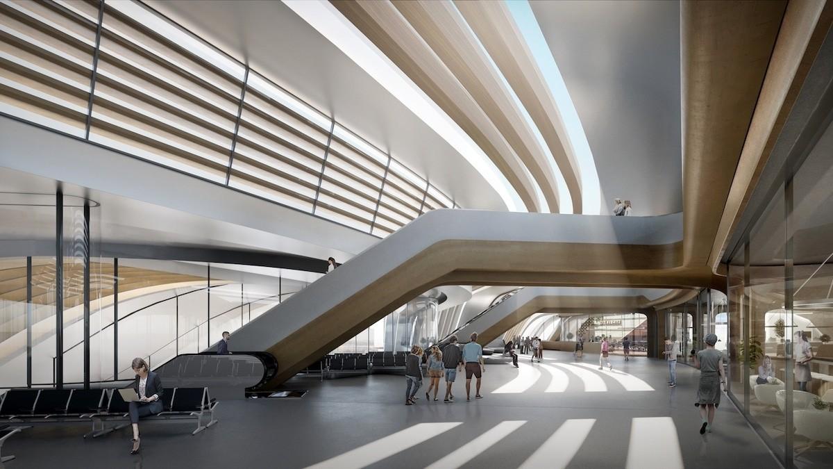 В Эстонии построят футуристический терминал Юлемисте