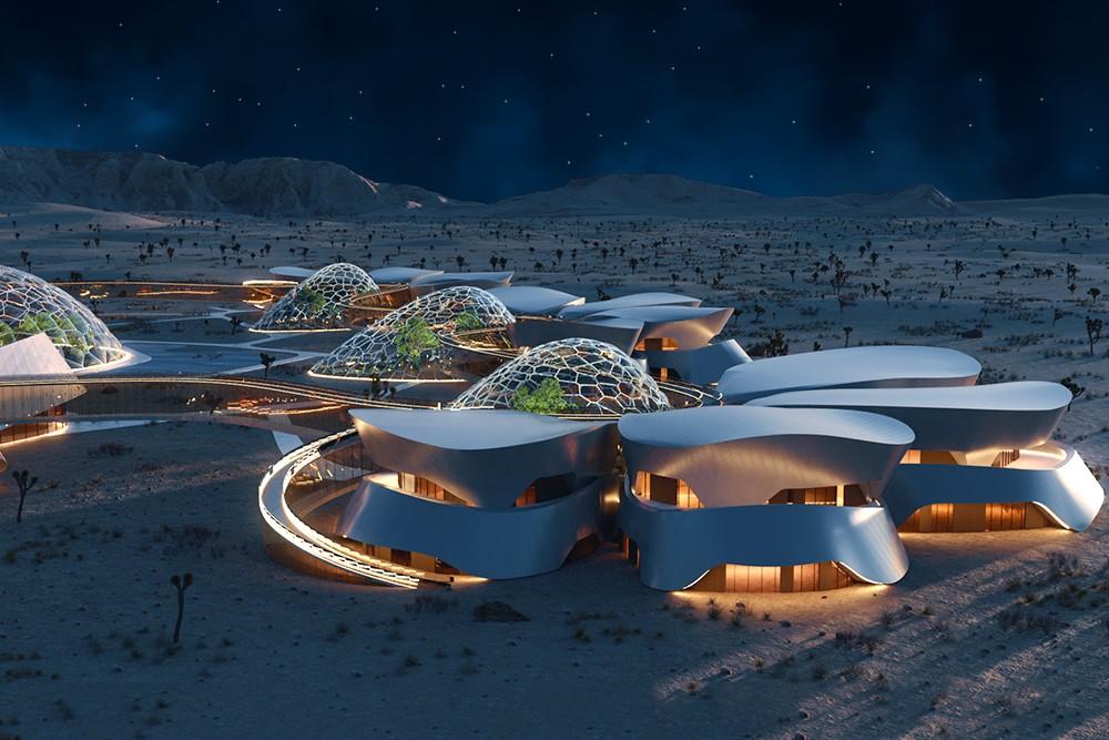 Этот объект в пустыне Мохаве будет построен для подготовки космонавтов к жизни на Марсе