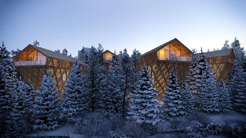 В Австрии построят 7-звездочный отель. Он будет спрятан среди деревьев!
