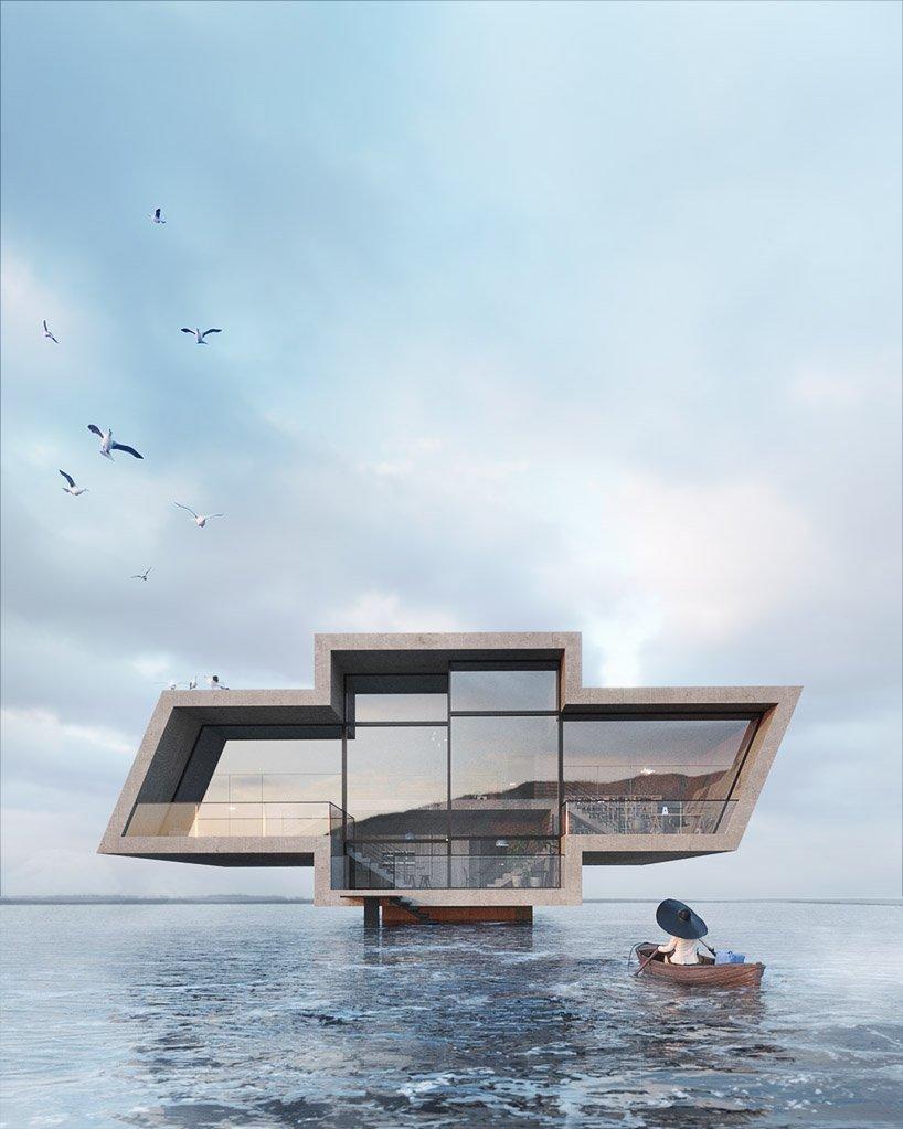 Дизайн этих домов вдохновлен логотипами известных брендов