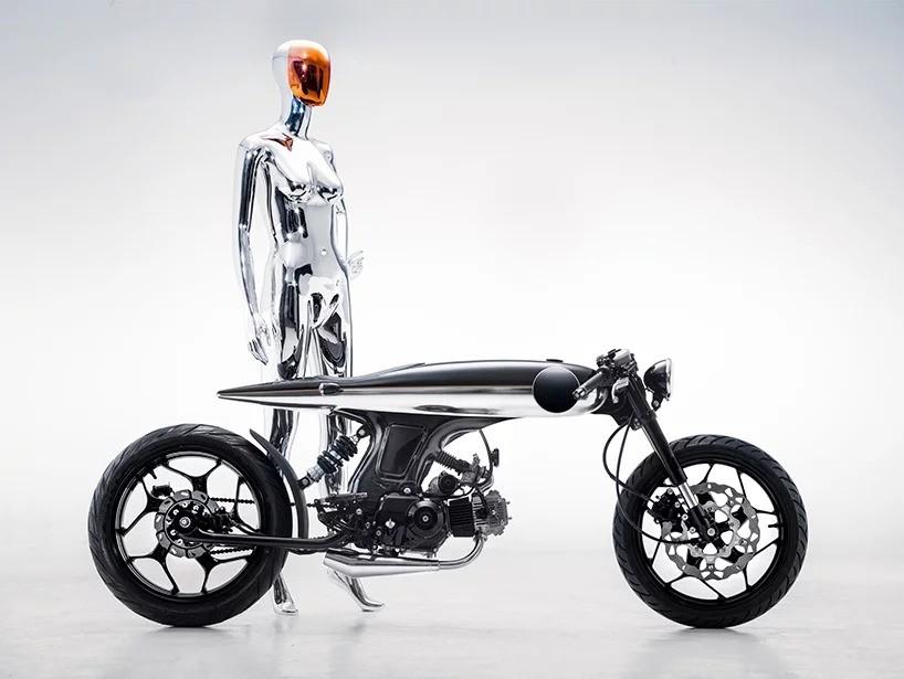 Космический мотоцикл EVE LUX от Bandit9 – новый взгляд в будущее!