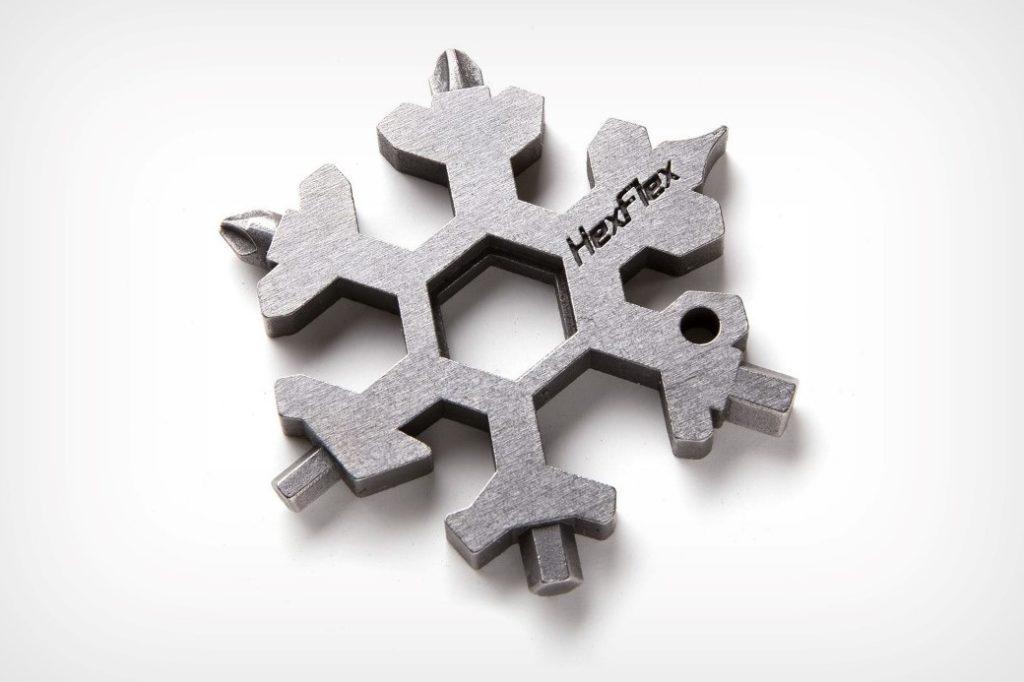 Этот мультиинструмент в форме снежинки лучший подарок для любителей EDC!