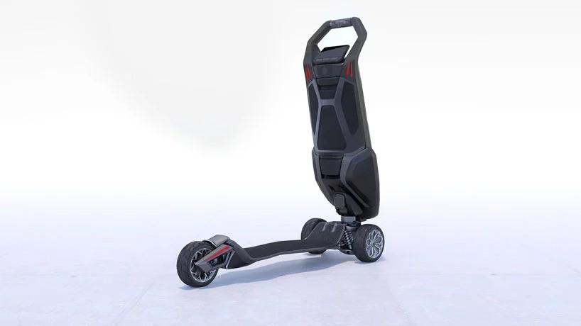 Лондонская компания D-fly представила первый в мире роскошный высокопроизводительный скутер «Стрекоза»