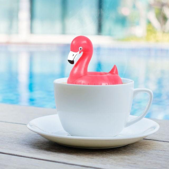 Эти чайные заварники FLOAT-TEA выглядят как надувные круги для бассейна