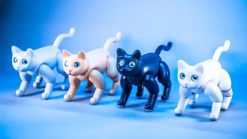 Домашний кот Marscat - первый в мире бионический робот-кот