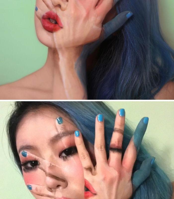Когда дело доходит до макияжа, ей равных нет!