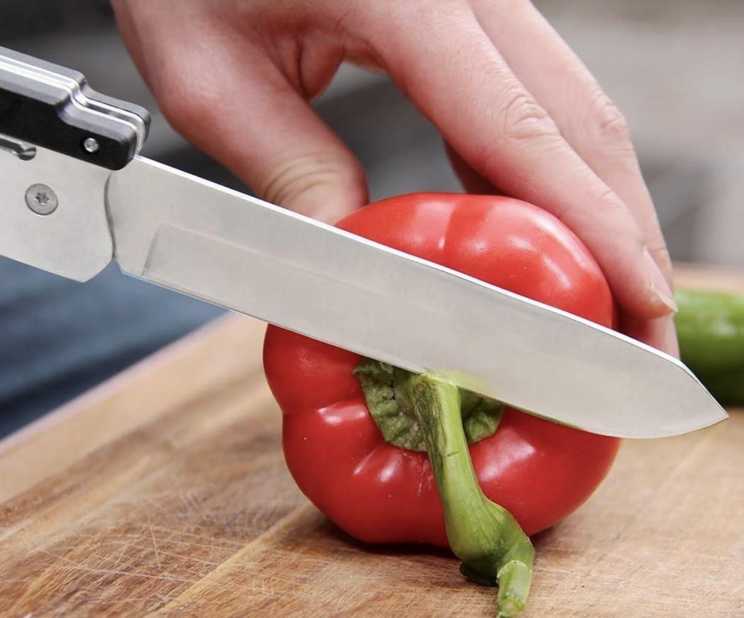 Мультиинструмент 6-в-1 Roxon MBT3 Multi BBQ Tool станет отличным помощником для вашего барбекю