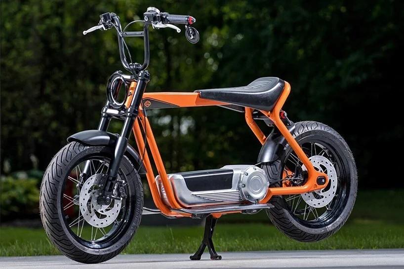Новый дизайн электрического скутера Harley-Davidson