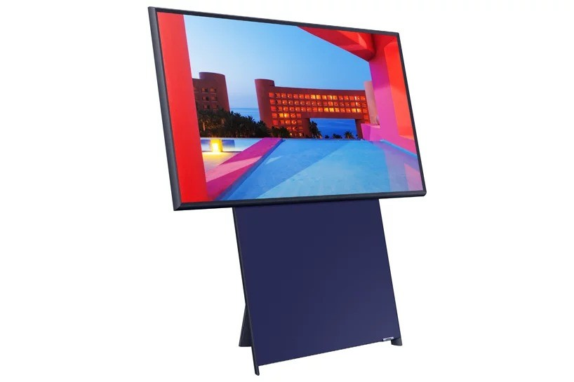 Samsung представляет вращающийся телевизор, Sero TV, который напоминает гигантский домашний смартфон