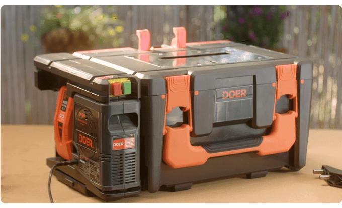 Полезная вещь 12 в 1! Самый компактный «гараж» для электроинструментов, который вы когда-либо видели!