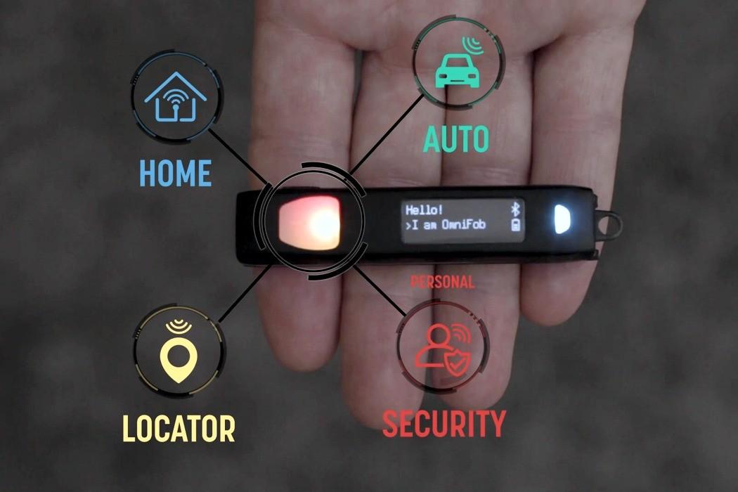 OmniFob - самый умный брелок в мире. Просто нажмите кнопку и управляйте всем!