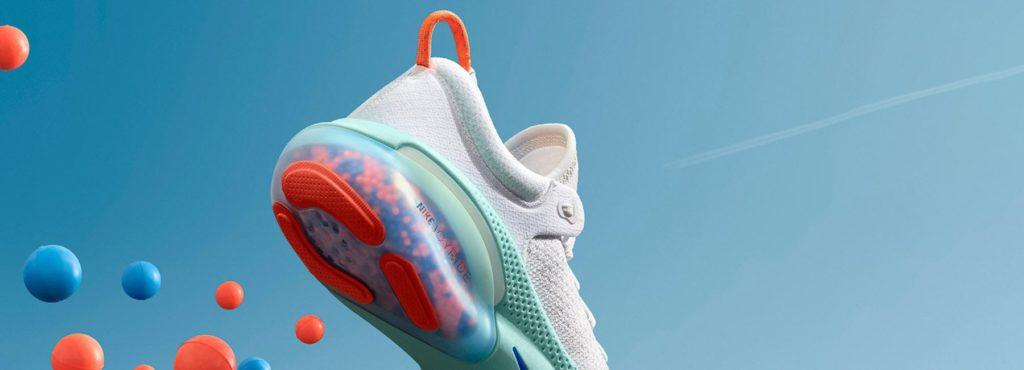 Новые кроссовки от NIKE с подошвой из 1000 шариков