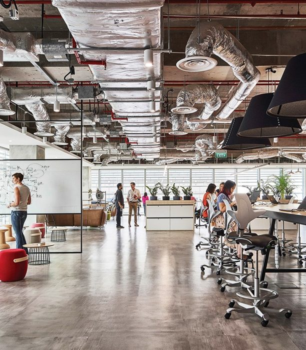 Этот офис сделан для снятия стресса прямо на рабочем месте
