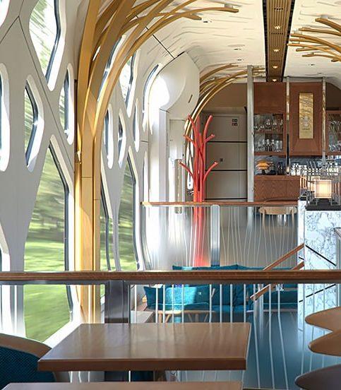 Это самый роскошный люкс-поезд в мире и он отправляется с платформы…