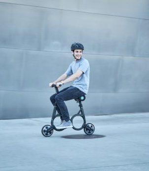 Он не похож ни на что! Самый маленький в мире велосипед способен зарядить любой телефон и поместиться в ваш рюкзак!