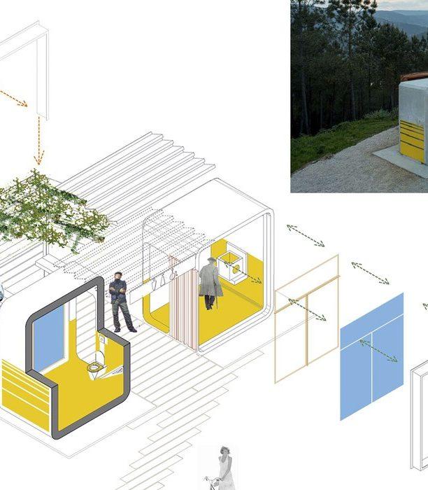 Такие туалеты - будущее общественных удобств!