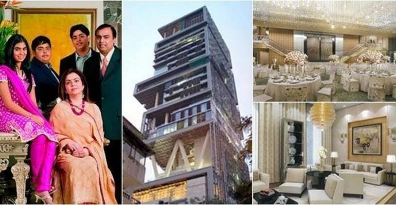 От 3 вертолетных площадок до комнаты, где идет снег… Самый дорогой дом в мире, который принадлежит индийскому миллиардеру…