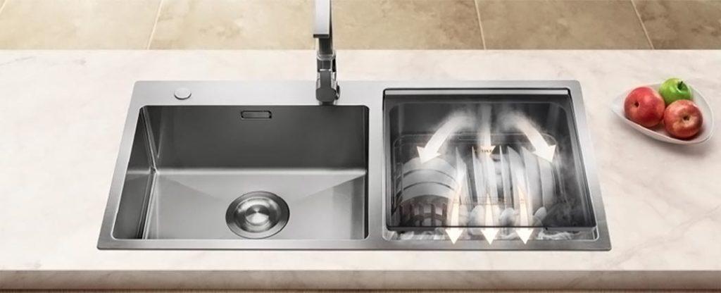 Посудомоечная машина 3-в-1, которая с легкостью поместится в вашей раковине!