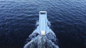Уникальное изобретение: катер в форме бегунка от молнии