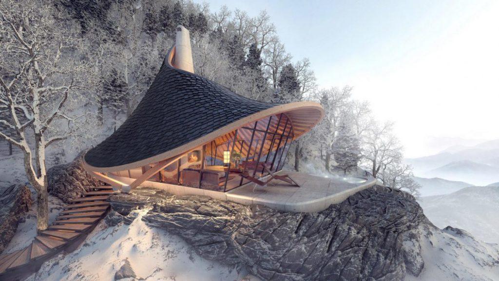Это великолепное место для отдыха в горах Японии - то, о чем вы мечтали!