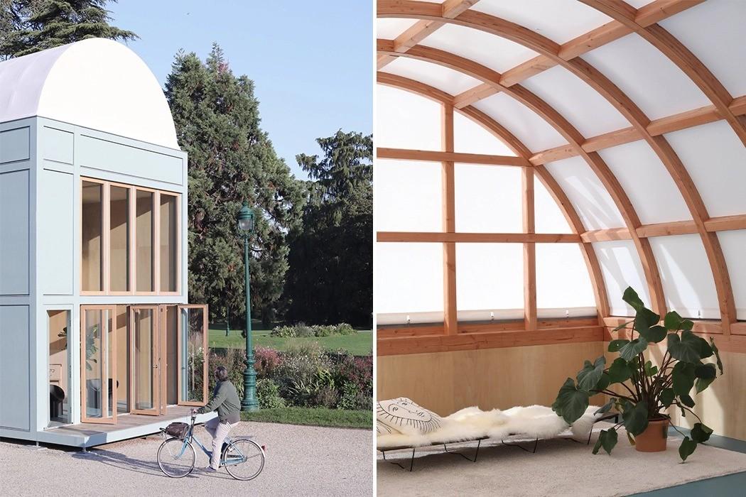 Proto-Habitat – двухэтажный дом, который собирается и разбирается за 5 дней