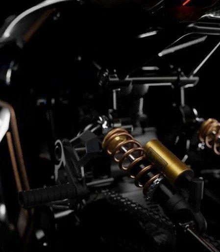 Голландский дизайнер показал новый футуристический концепт мотоцикла BMW Café Racer