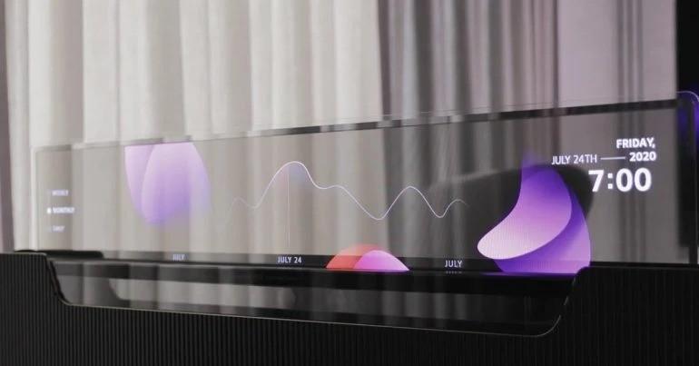 LG представляет радикально крутую кровать со съемным прозрачным OLED- телевизором