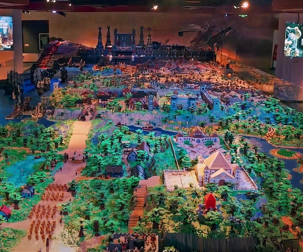 Это самый большой набор Lego, созданный когда-либо!