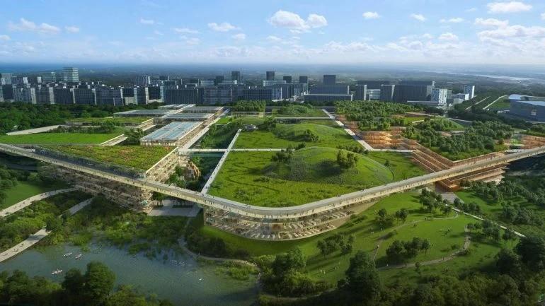 Взгляните на будущий научный город Китая
