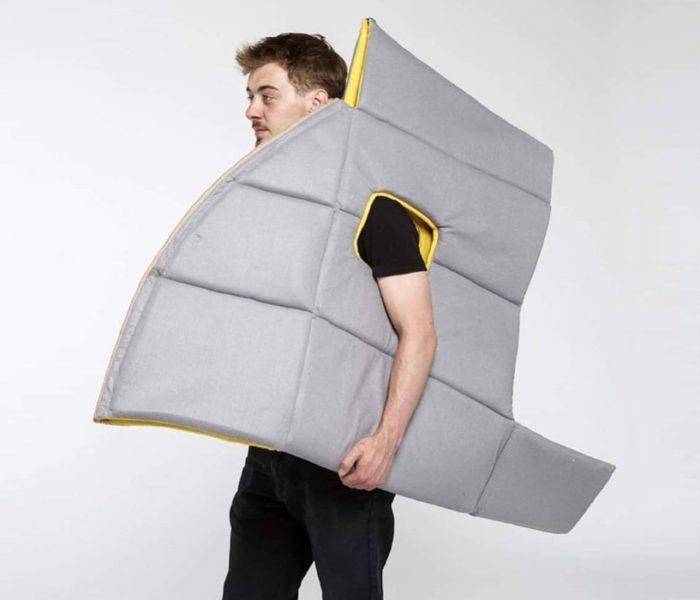 Это уникальное изобретение обеспечит вам полную конфиденциальность в любом месте!